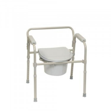 PMI ProBasics Three-In-One Folding Commode