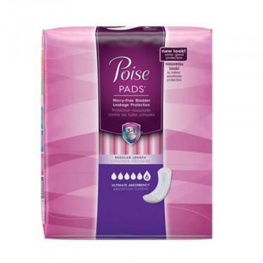 Poise Pads Ultimate Coverage