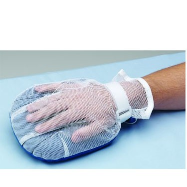 Posey Hand Control Mitt Hook and Loop Closure