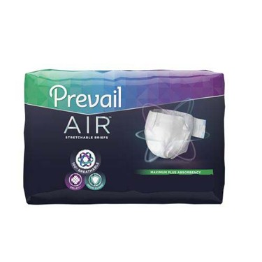 Prevail Air Heavy Absorbency Adult Incontinent Brief