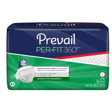 Prevail Per-Fit 360°  Adult Incontinence Brief