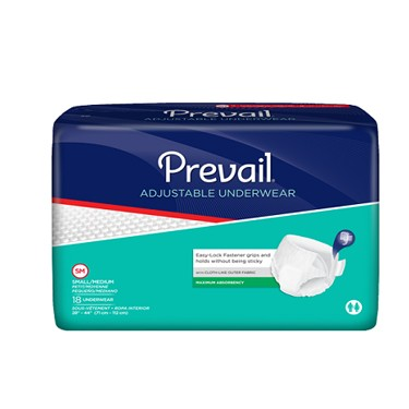 Prevail Adjustable Pull On Underwear-Maximum Absorbency