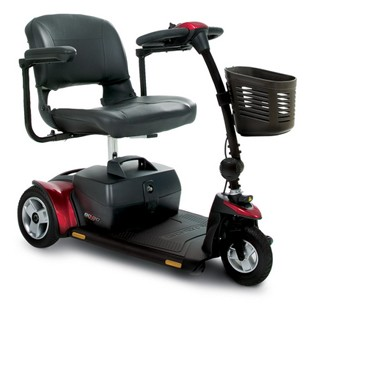 Pride Mobility 3 Wheel Go-Go Elite Traveler Plus Scooter