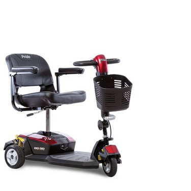 Pride Mobility Go-Go LX 3 Wheel CTS Scooter