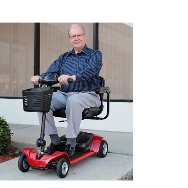 Pride Mobility Go-Go Ultra X 4 Wheel Scooter