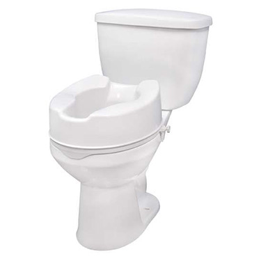 Raised Toilet Seat with Lock By Drive