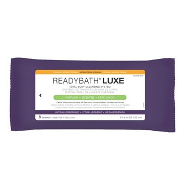 ReadyBath Luxe Total Body Antibacterial Wipes