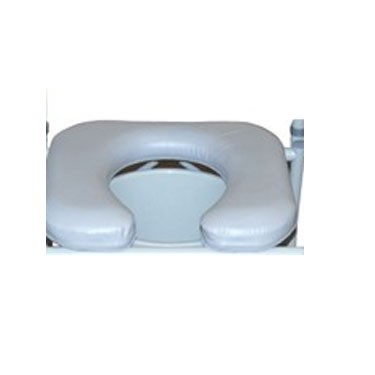 Replacement Commode Seat by Drive Medical for the Steel Drop-Arm Commode with Padded (Seat Only)
