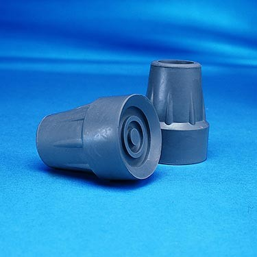 Replacement Rubber Crutch Tip by Invacare