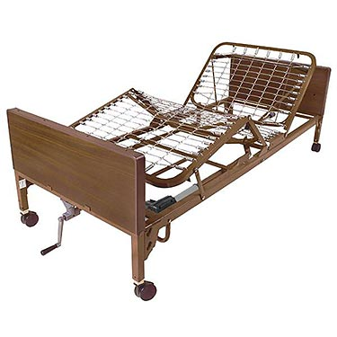 Semi Electric Hospital Bed by Drive Medical