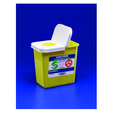 SharpSafety™ Chemotherapy Sharps Container