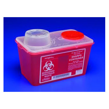 SharpSafety Monoject Sharps Containers by Covidien