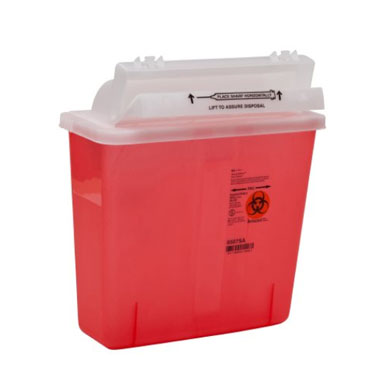 SharpStar In-Room Sharps Container