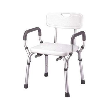 Shower Bench With Padded Removable Arms