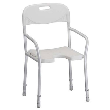 Shower Chair with Back & Arms by Nova