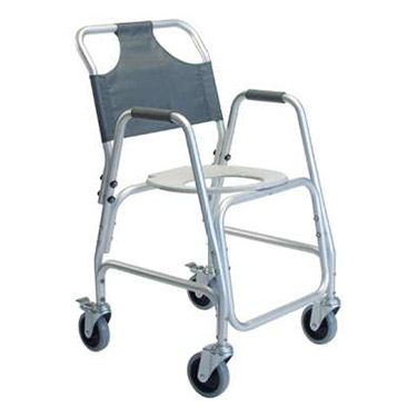 Lumex Aluminum Lightweight Shower Transport Chair