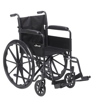 Silver Sport 1 Wheelchair by Drive Medical