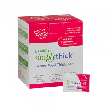 SimplyThick 6 Gram Individual Packet Unflavored Gel Thickner (Nectar Consistency)