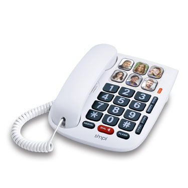 SMPL Amplified Hands-Free Dialing Photo Phone