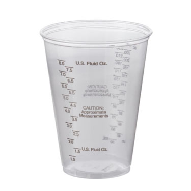 Solo Ultra Clear Graduated Drinking Cup