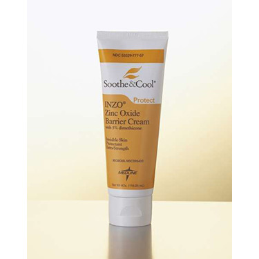 Soothe & Cool INZO Invisible Zinc Oxide Barrier Cream