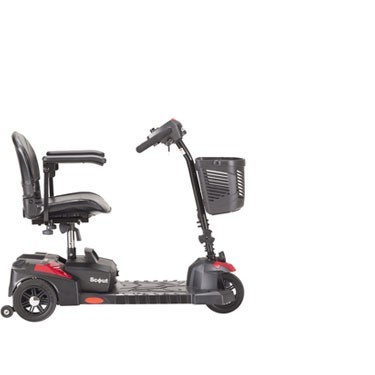 Scout 3 Wheel Compact Travel Scooter by Drive