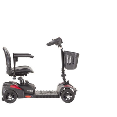Scout 4 Wheel Compact Travel Scooter by Drive