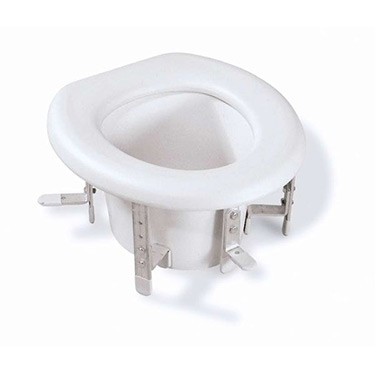 Standard Raised Toilet Seat With Height Adjustment Mds80315