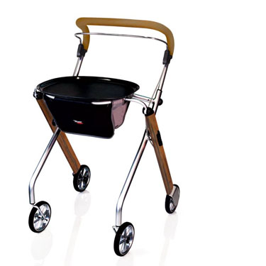 Stander Let's Go Indoor Rollator by Trust Care