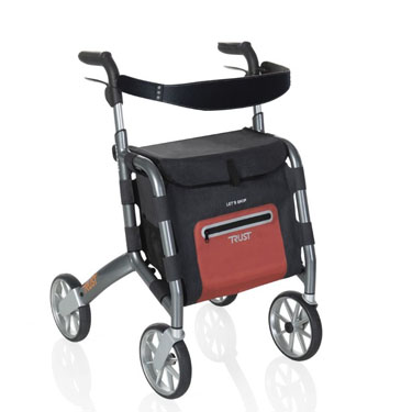 Stander Let's Shop Rollator by Trust Care
