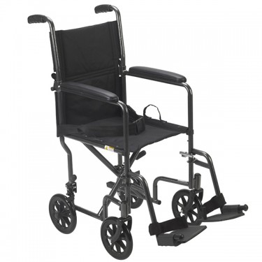 Steel Narrow Fit Transport Chair by Drive
