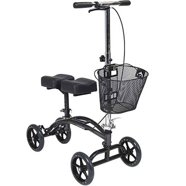 Dual Pad Steerable Knee Walker by Drive