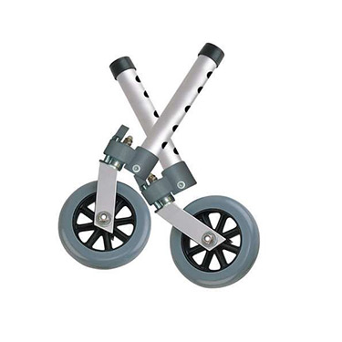 Swivel Walker Wheels with Lock and Glides By Drive