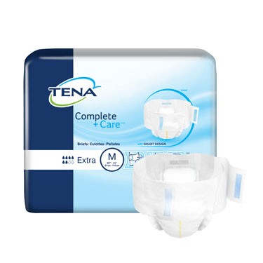 TENA Complete + Care Brief Moderate Absorbency