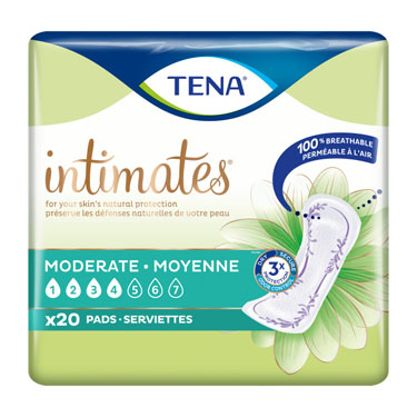 TENA® Intimates Bladder Control Pads - Moderate Absorbency