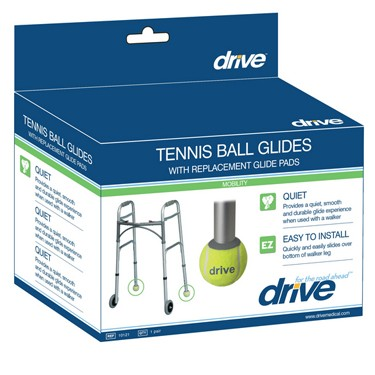 Tennis Ball Glides with Replacement Pads