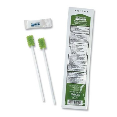Sage Toothette Perox-A-Mint Oral Swab Kit  (NonSterile)