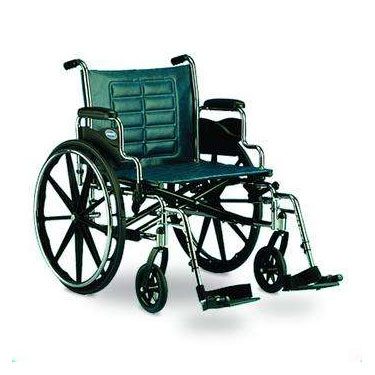 Tracer IV Wheelchair by Invacare (Shown w/ Foot Rests)