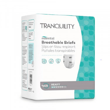Tranquility Essential Breathable Brief Heavy Absorbency