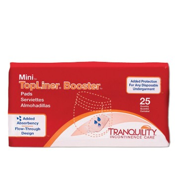 Tranquility Topliner Mini Booster Pads 10.5