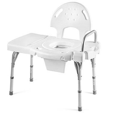Transfer Bench Commode. I-Class Blow-Molded