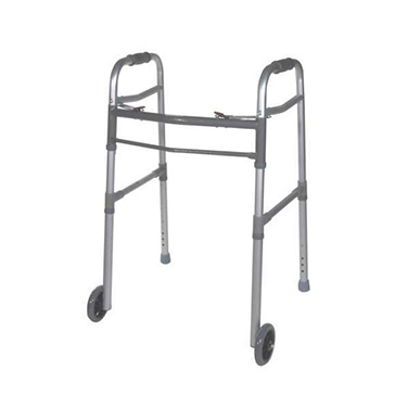 Two-Button Folding Universal Walker by Drive with 5