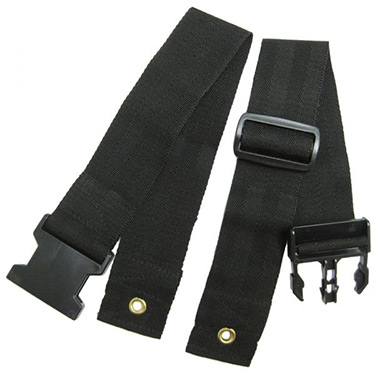 Two-Piece Wheelchair Seat Belt