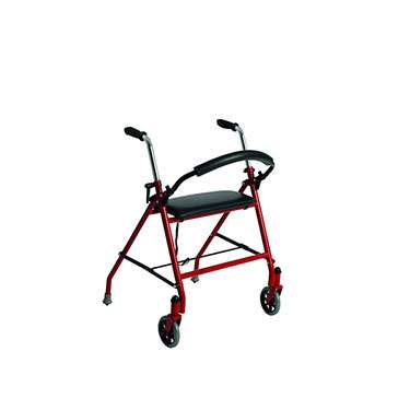 Two Wheeled Walker with Seat by Drive Medical