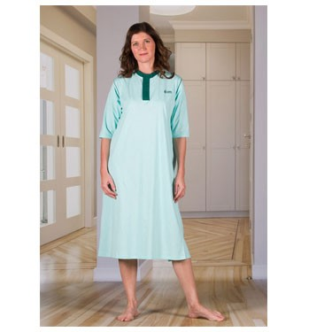 Unisex Nightshirt with an Open Back (Hospital Gown) by 4Care