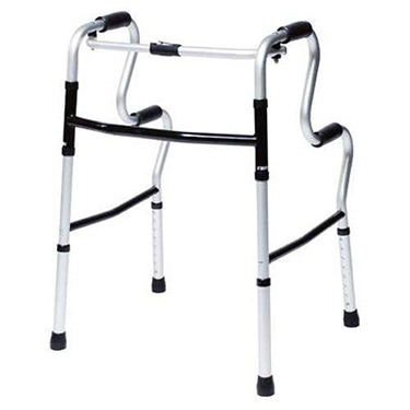 Lumex UpRise Onyx Folding Walker and Assist