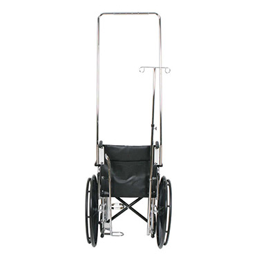 Wheelchair IV Pole Attachments