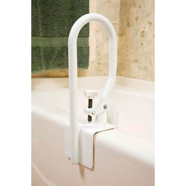 White Bathtub Safety Rail by Carex