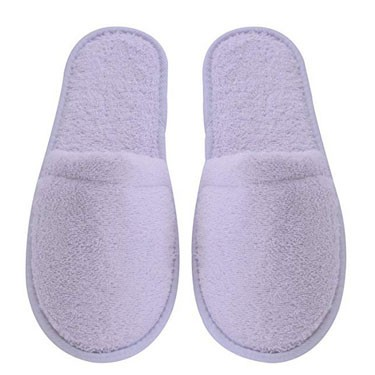 Women's Turkish Organic Terry Cotton Cloth Spa Slippers