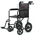Lightweight Transfer Chair with Hand Brake